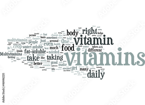 Improve your Personal Life with Vitamins