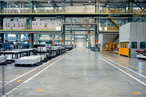 Automotive sheet metal processing plant