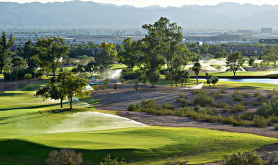 Golf course in Phoenix, AZ,USA
