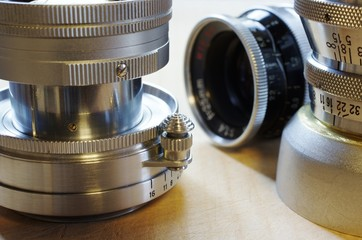 PRIME LENSES old gear 往年の名器