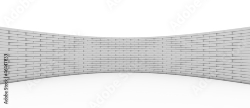 3D Rendered Wall