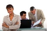 Collaborators in office