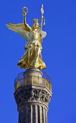 Siegessaule, the Victory Column, Tiergarten park, Berlin