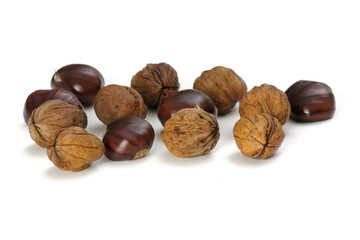 Chestnuts and nuts