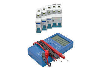 Automatic circuit breaker and Digital multimeter