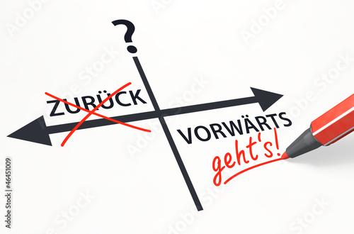 Stift- & Schriftserie: VORWÄRTS statt ZURÜCK