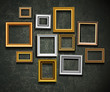 Picture frame vector. Photo art gallery.Picture frame vector. Ph - 46451476