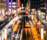 Fototapete Tiltshift - Time-system - Stadt allgemein