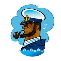 Sea ship Captain