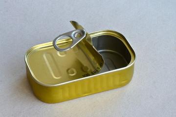 Sardinenbüchse, Dose, Fischbüchse, konservendose, recycling