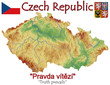 Czech Republic national emblem map symbol motto