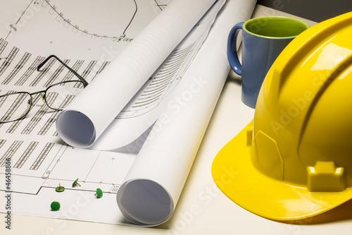 Progetto cantiere edile e sicurezza sul lavoro