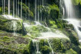 Fototapete Sauber - Farbe - Wasserfall / Schnellen / Geysir