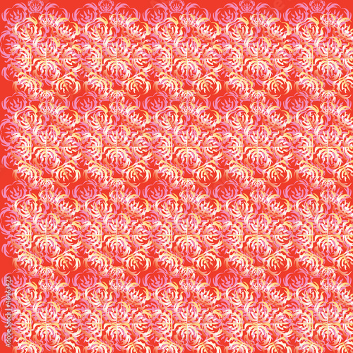 wallpaper pattern pink with ornament