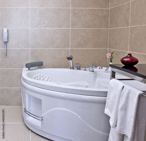 bath, bath tub, jakuzzi - 46463693