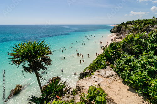 Tulum Beach, Mexico - 46464020