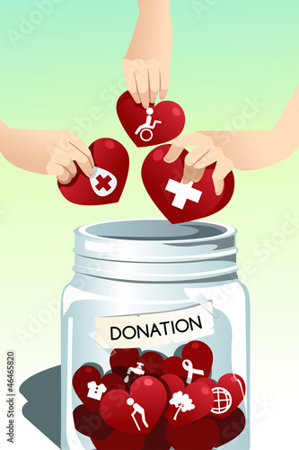Making donation
