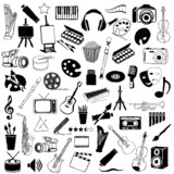 big doodle art pictures collection poster