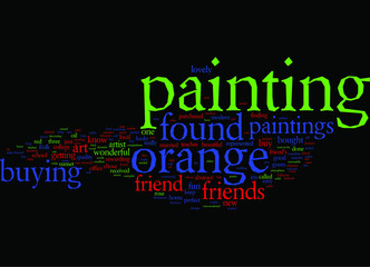 buying-orange-paintings-for-friends