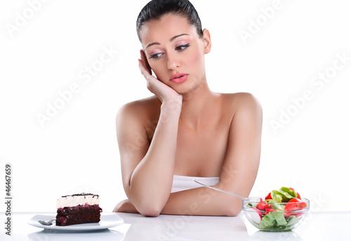 Sweet or healthy food