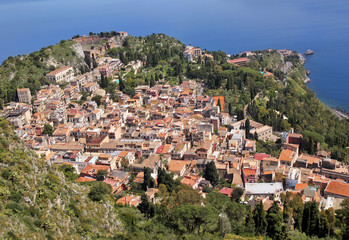 Taormina, Sicily (view from above)