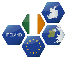 Vector Iconset *** EU Ireland