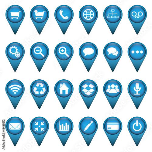 Web Icon Button