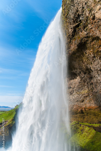 Seljalandsfoss, waterfall in southern Iceland