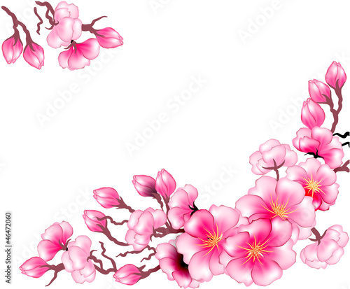 szablon-projektu-kwiaty-galaz-sakura