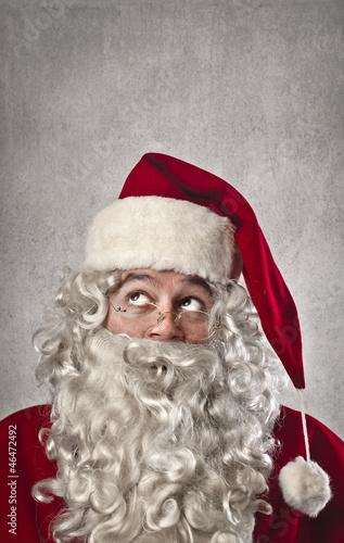 Thinking Santa Claus