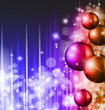 Elegant Classic Christmas Background with rainbow Colours