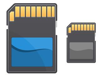 Digital memory card
