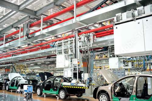 Automobile assembly shop