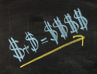 Dollar sign formula