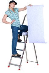 Decorator considering a wallpaper
