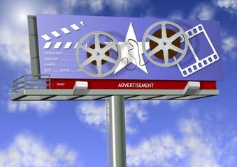 Movie advertisement