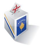 Wahlbox Kosovo poster