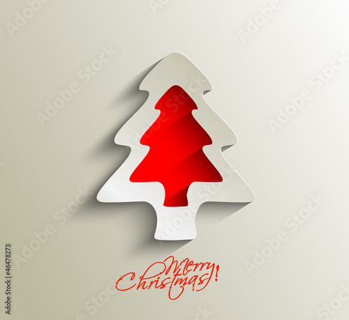 christmas tree, design, vector illustration.