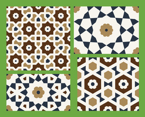Agra Seamless Patterns Set One
