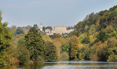 Cliveden House, an English Stately Home in Autumn