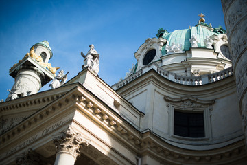 St. Charles' Church (Karlskirche) in Vienna