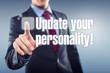 Постер, плакат: Update your personality