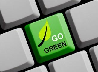 Go Green - Auch online