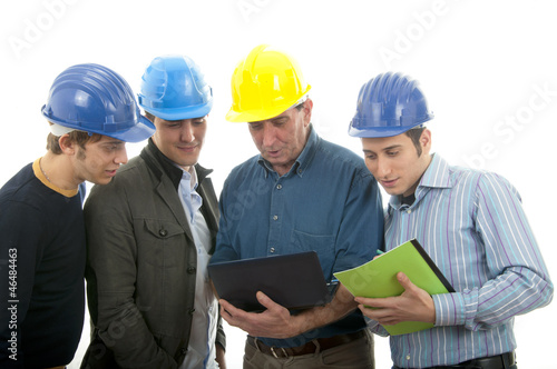 Group of engineers