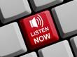 Listen now! - Jetzt online reinhören
