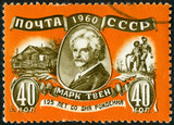 USSR - 1960: shows Mark Twain (1835-1910)