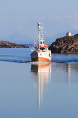 Lofoten's fishing boat