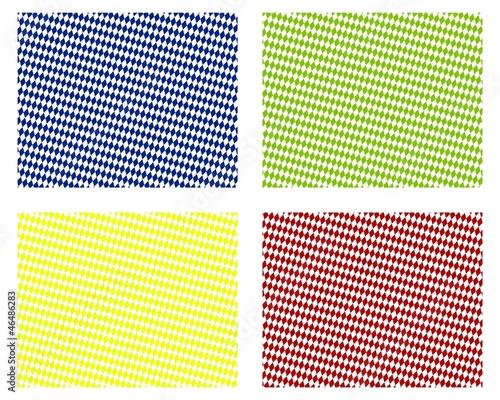rautenmuster hintergrund in 4 farben blau gr n gelb rot von kebox lizenzfreies foto. Black Bedroom Furniture Sets. Home Design Ideas