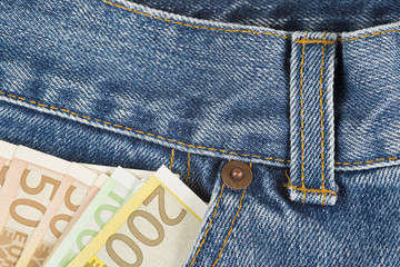 Dinero fresco en el bolsillo