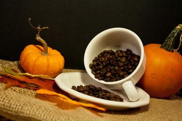 Making Pumpkin Coffee